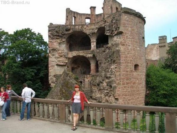 Гейдельберг, не повезло башенке