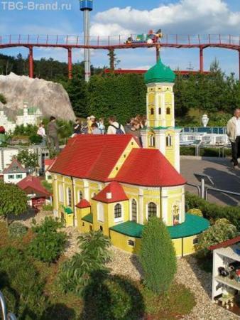 Лего-замок