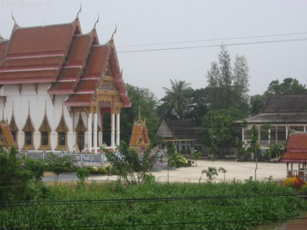 А из поезда окна красна пагода видна