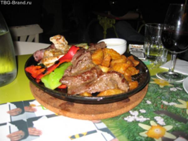 это блюдо стоило 11 евро в Мадриде