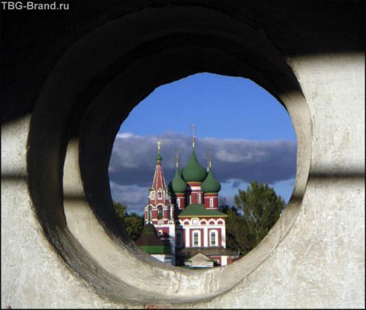 Церковь в окошке