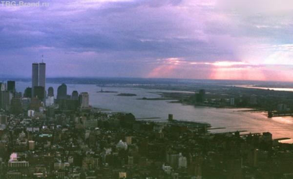 Закат над Гудзоном