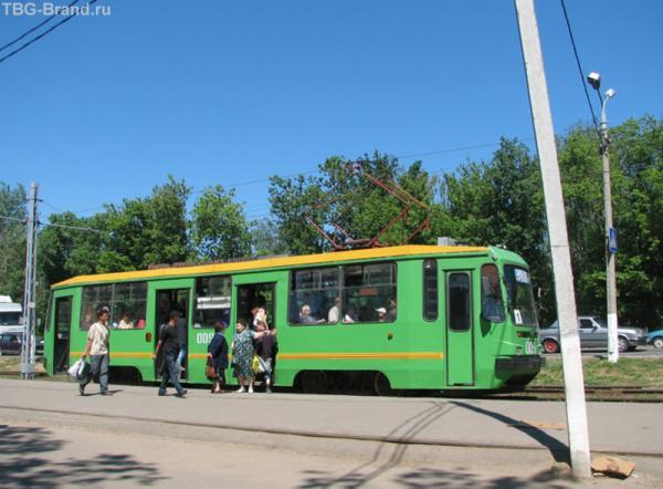 Зелёный трамвай