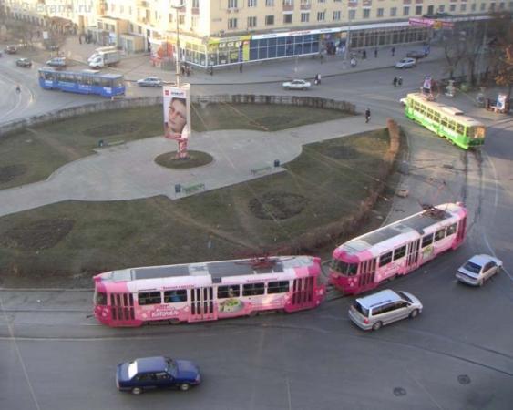 Трамвайный хоровод