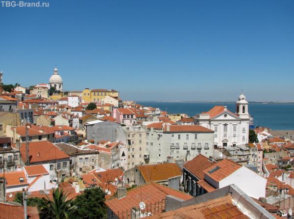Лиссабон. Панорама №4