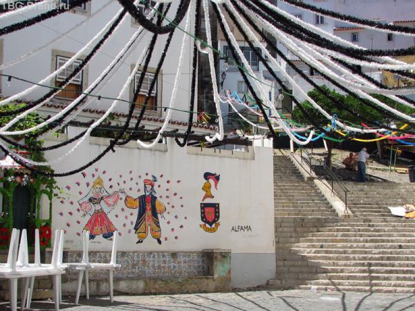 Улицы Лиссабона. Алфама