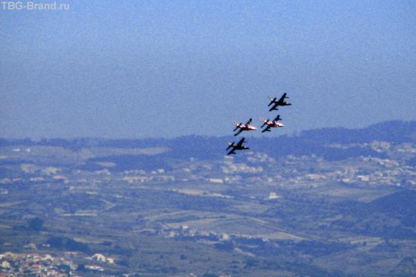НАТО тренируется в долине Серра-да-Синтра