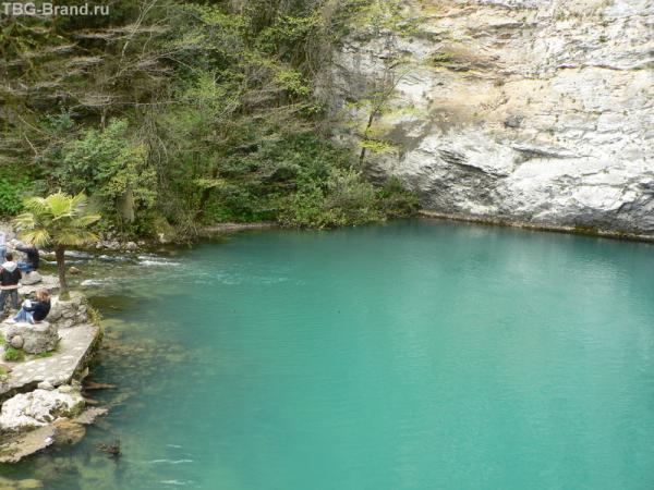"""Абхазия.Озеро """"Голубое"""".Глубина 150 м. Воздух чистейший"""