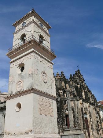 7.Церковь Ла Мерсед была построена в XVI веке.
