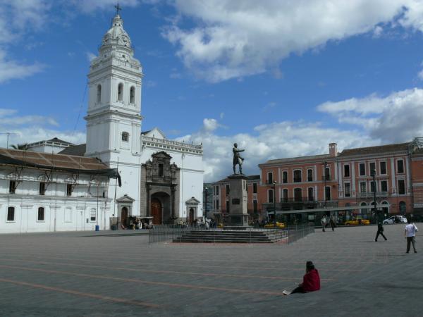 Кито. Старейший собор в городе – Святого Франциска