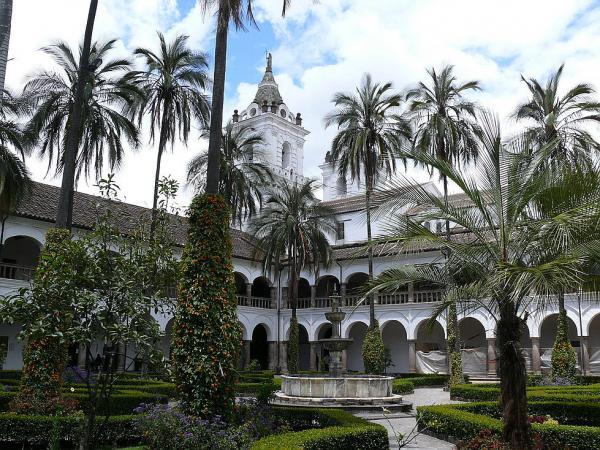 Внутренний двор монастыря Святого Франциска.