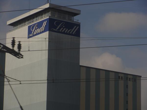 знаменитый концерн - шоколадное производство Линдт