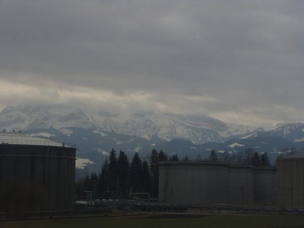 тучи над Альпами