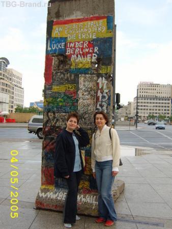 Остатки Берлинской стены...