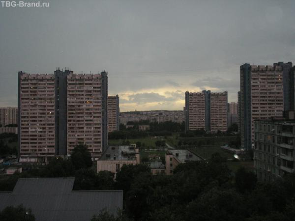 сумерки в Москве...