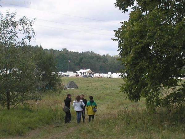 палаточный лагерь реконструкторов