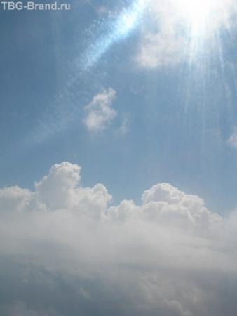 солнце..и небо.. или небо, девушка, самолет...