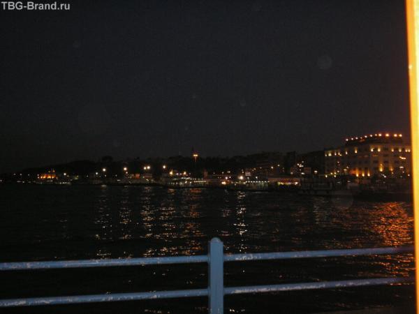 ночь на Босфоре...