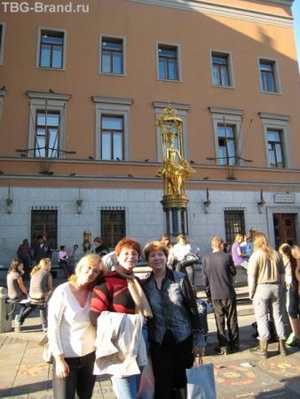 фонтан у театра им.Вахтангова