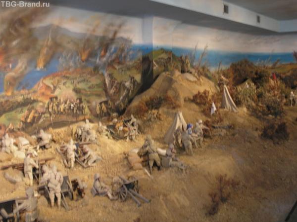 Панорама- битва при Дарданеллах