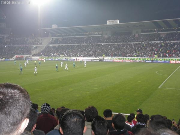матч Бешикташ Стамбул- Кризеспорт-Черное море