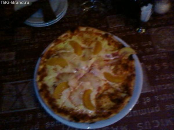 Фруктовое чудо- пицца