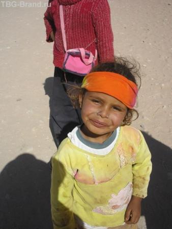 малышка-бедуинка