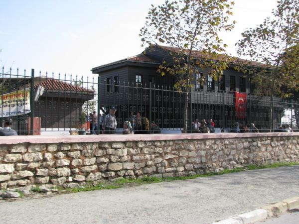 мечеть ортодоксов, сюда даже туркам не всем вход разрешен