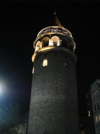 знаменитая башня Галата