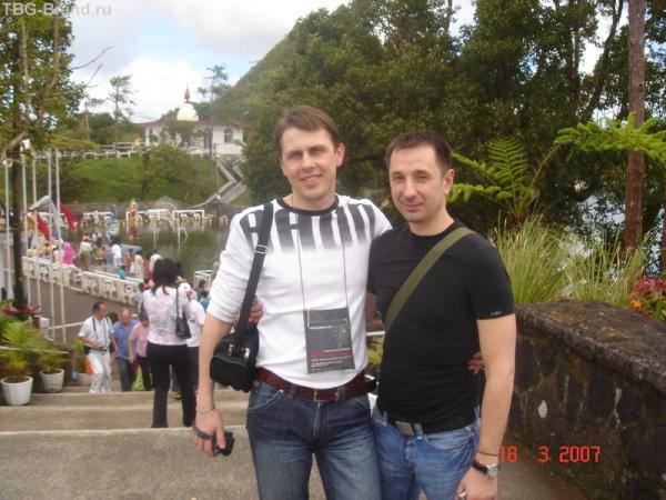 Мы с Вадимом (я слева)