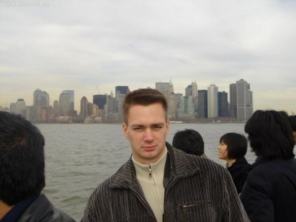 Манхетен с Liberty Island