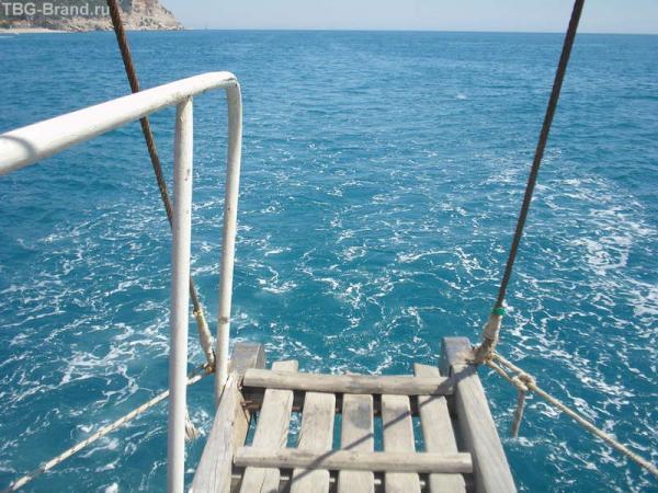 мостик для подкормки рыб
