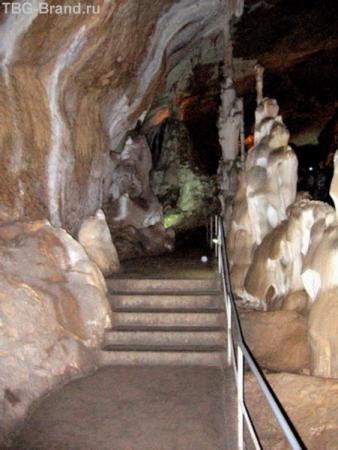 В пещерах Чатырдага. На маршруте.