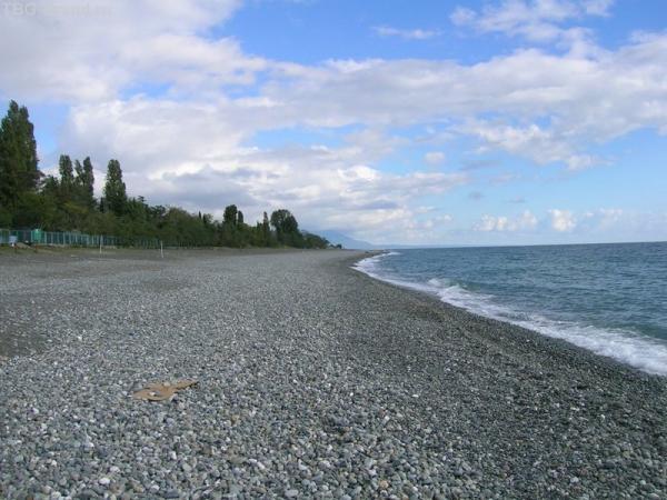Берега Абхазии