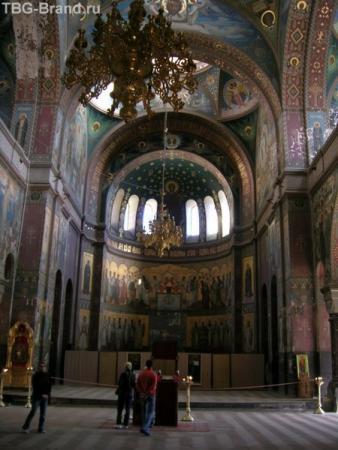 Убранство монастыря впечатляет. Словно попал в другой мир.