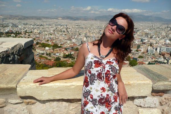 С видом на Афины