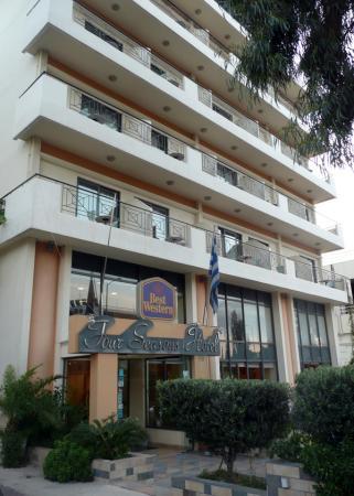 Наш отель на побережье Эгейского моря