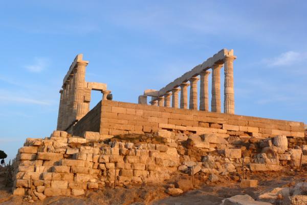 Остатки храма Посейдона