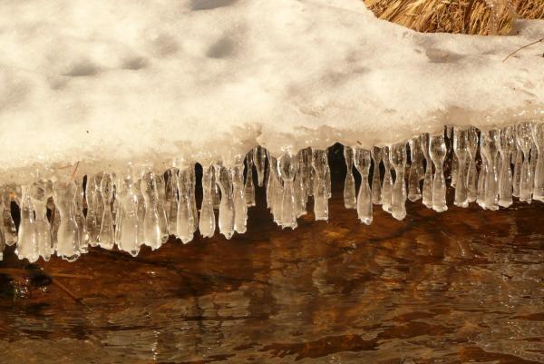 Ледяная бахрома.