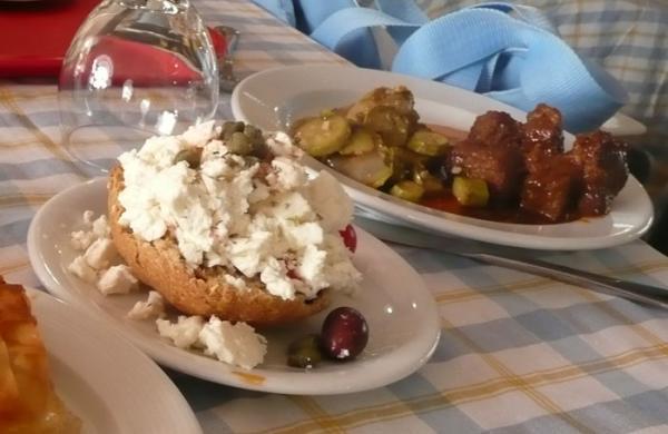 Греческие салаты и закуски