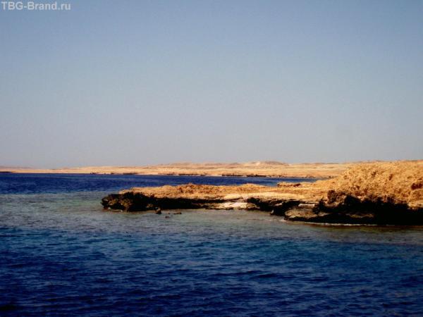 Вот он самый Южный Синай - Рас Мухамед (Голова Мухамеда).