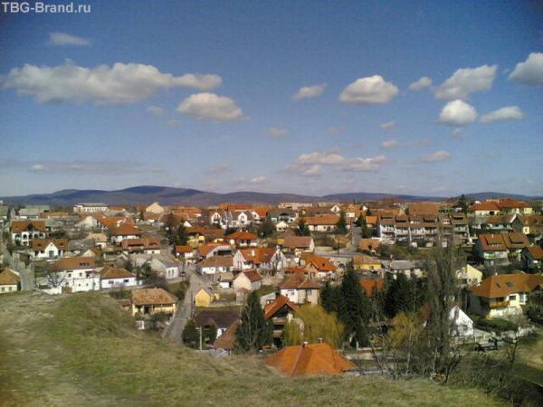 Типичный венгерский городок.