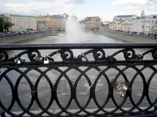 Мост влюбленных. Замки, замочки...