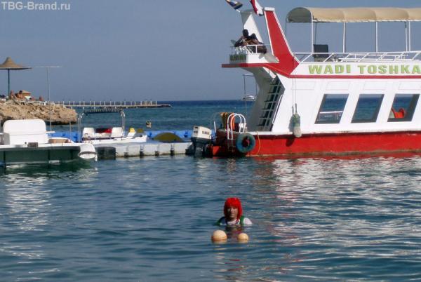 Ну вот и сцена захода в воду!