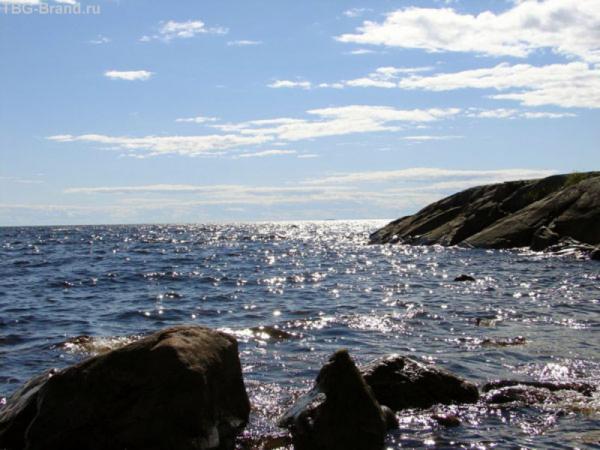 Ладожское озеро как море...