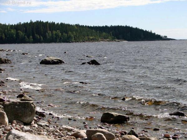 ....волны бьются о берег