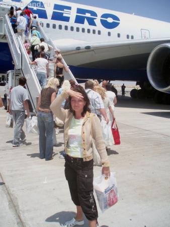 Так я выглядела в тот день. Перед вылетом в Шарме.