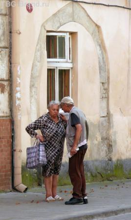 Какая колоритная армянская тетушка!