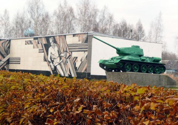 Танк Т-34. Зеленый!