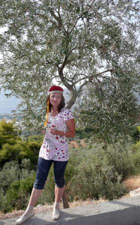 Близкое знакомство с оливой состоялось.